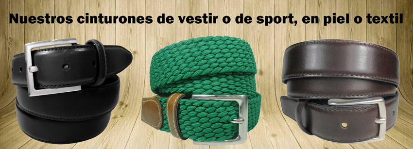 cinturon de caballero