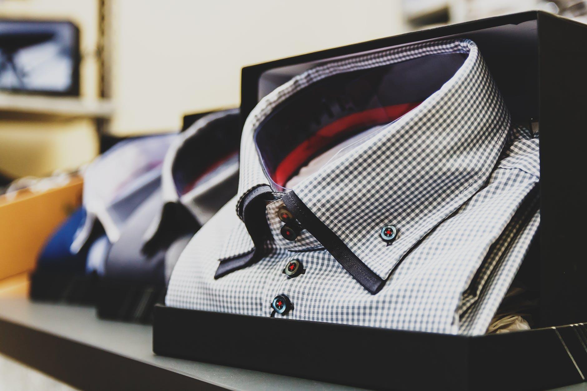 Camisas de manga corta o larga