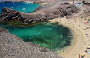 Playas del Papagayo Islas Canarias Lanzarote