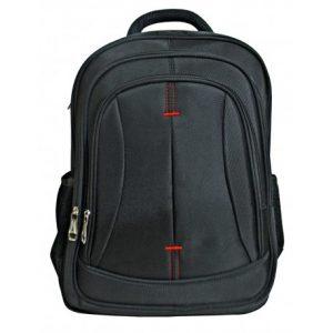 bolso mochila nylon negra
