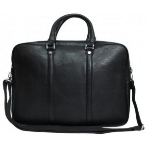 bolso portatil polipiel negro