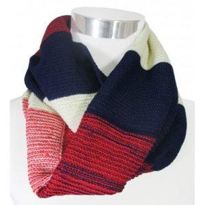bufanda cuello unisex tricolor 1