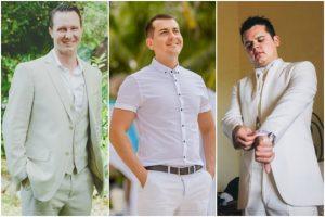 el look de novio en la playa bodas com mx imagen para emocionante boda como vestir hombre