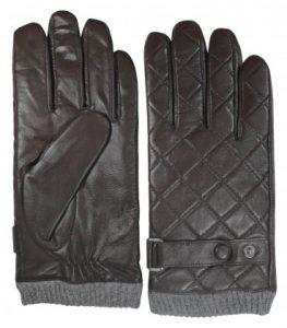 guantes hombre piel marrones