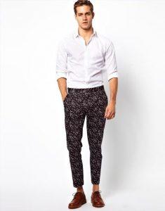 tendencias pantalones y jeans hombre primavera verano estampados