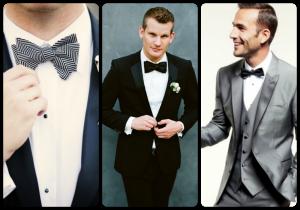 tendencias trajes hombre 2016 trajes de novio pajarita 600x420